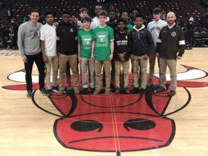MC Bulls Celebration for Conference Championship